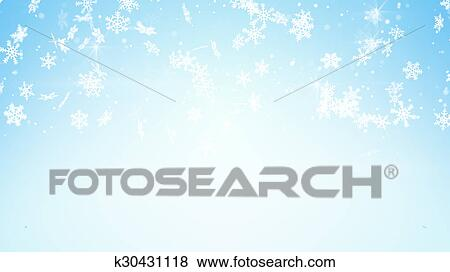 積雪量 上に 淡いブルーの 背景 イラスト K30431118 Fotosearch