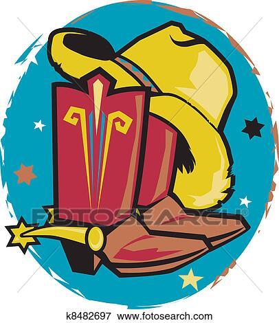 Clip Art - sombrero vaquero 8c43ec42f17