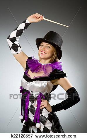 Woman magician Nude Photos 44