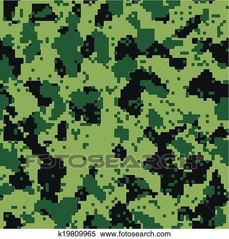Grey And Black Digital Camouflage Vector Background - Download Free  Vectors, Clipart Graphics & Vector Art