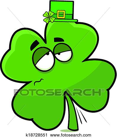 clipart of drunk cartoon shamrock k18728551 search clip art rh fotosearch com drink clip art animated drunk clipart
