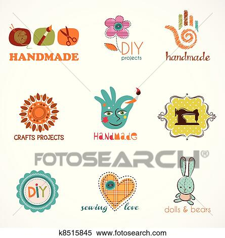 Clipart of craft and do it yourself collection of icons k8515845 clipart craft and do it yourself collection of icons fotosearch search clip solutioingenieria Choice Image