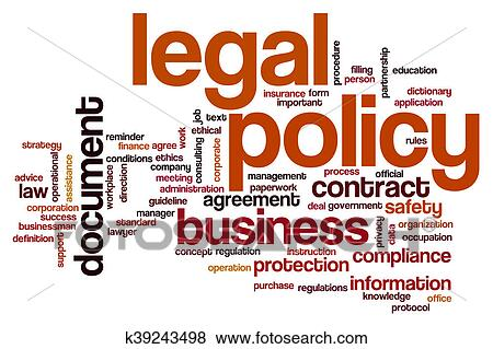 stock illustration of legal policy word cloud k39243498 search eps