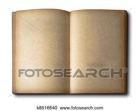Vieux Livre Ouvert Banque D Image