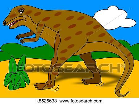 Dinossauro Desenho K8525633 Fotosearch