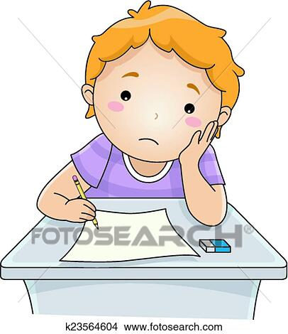 clipart of examination blues k23564604 search clip art