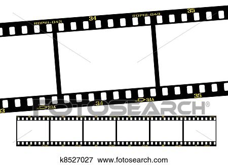 clip art of slide filmstrip k8527027 search clipart illustration rh fotosearch com negative film strip clipart film strip clipart free download