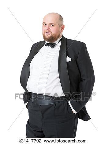 Dicker Mann Lustig