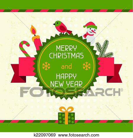 Happy New Year Invitation Card 3