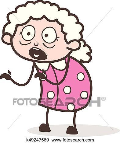 Granny cartoon pics