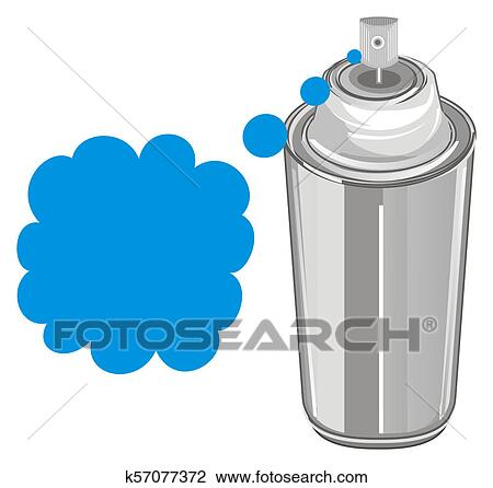 clip art of spray paint and spot k57077372 search clipart rh fotosearch com spray paint bottle clipart spray paint bottle clipart