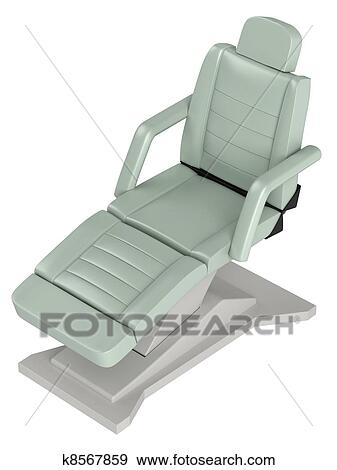 Brilliant Light Green Beauty Chair Stock Illustration Ibusinesslaw Wood Chair Design Ideas Ibusinesslaworg