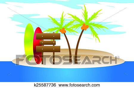 clip art of surfing fun beach background k25587736 search clipart rh fotosearch com beach clipart background beach party background clipart