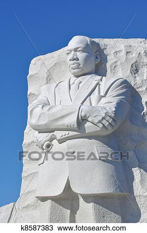 Stock Photo Of Martin Luther King Statue In Washington Dc K8587383
