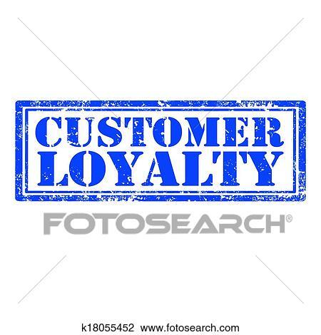 Customer Loyalty Stamp Clipart K18055452