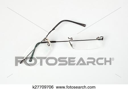 Stock Images of Eyeglasses with lightweight frame broken k27709706 ...
