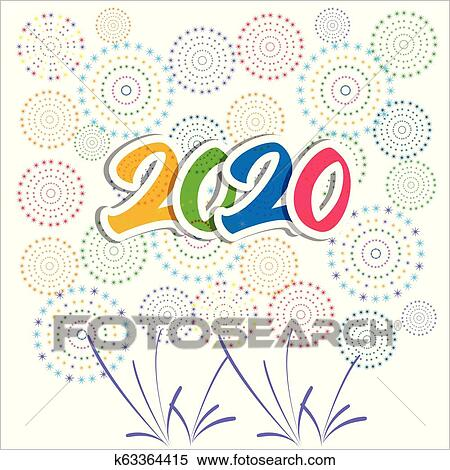 Happy New Year Clipart 2020 102