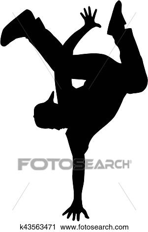 Clipart Dancers Silhouette