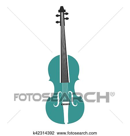 Cello Instrument Musical Icon Clipart K42314392 Fotosearch