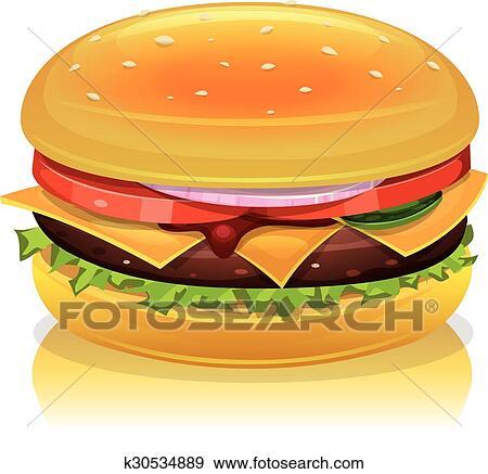 clip art of hamburger icon k30534889 search clipart illustration