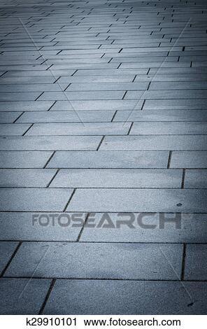 Stock Fotografie Block Betonieren Boden Muster 3 K29910101