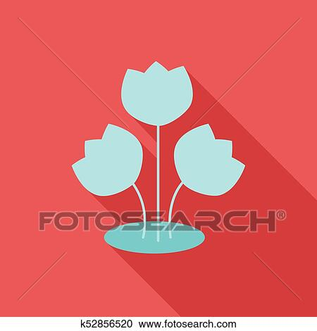 Spring Holiday, 8 March, Women with Flowers - vector clipart