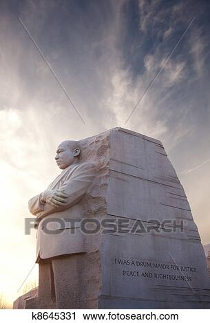 Stock Photography Of Martin Luther King Monument Dc K8645331