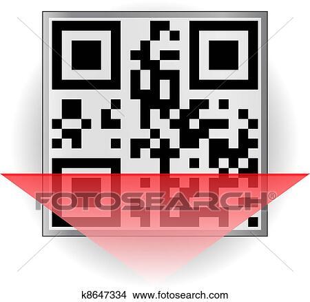 QR-code Clipart | k8647334 | Fotosearch