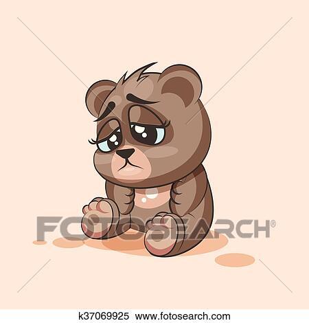 Carta da parati due orsi di cartone animato su uno sfondo di cuore