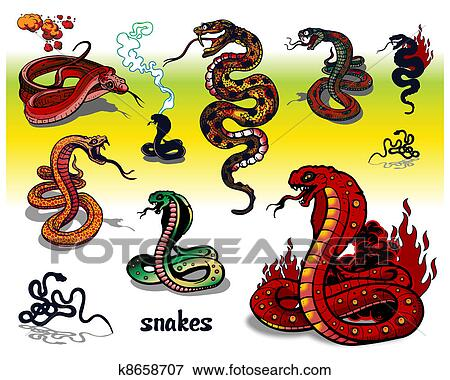clipart serpent tatouages k8658707 recherchez des cliparts des illustrations des dessins. Black Bedroom Furniture Sets. Home Design Ideas