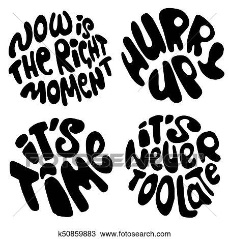 clipart of time lettering motivation quotes about time and to do We Did It Clip Art clipart time lettering motivation quotes about time and to do lists circle lettering
