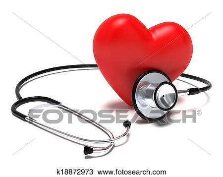 Dessin Stéthoscope dessin - stéthoscope, et, coeur k18872973 - recherchez des cliparts