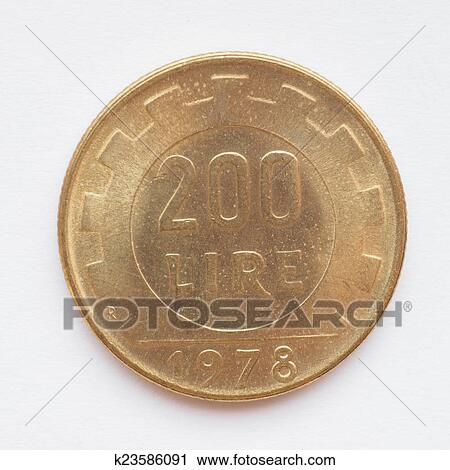 Stock Photography Italian Lira Coin Fotosearch Search Photos Pictures Prints
