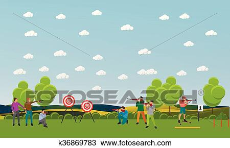 Clip Art Sport Shoot