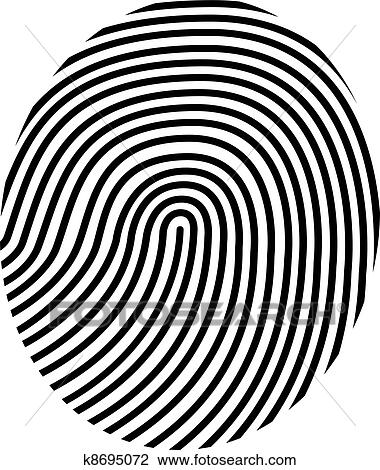 clipart of drawing vector fingerprint k8695072 search clip art rh fotosearch com fingerprint clipart free fingerprint clip art vector