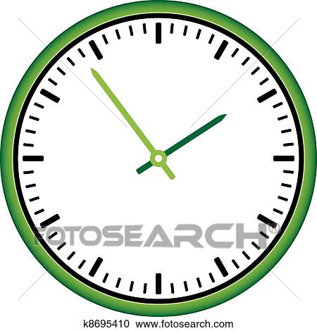 clipart of vector clock face easy change time k8695410 search rh fotosearch com black and white clipart clock face black and white clipart clock face