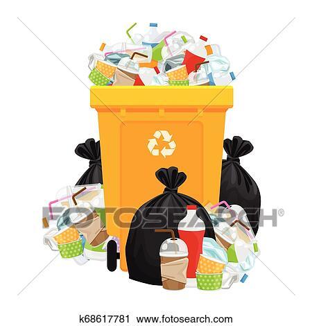 Papelera de reciclaje papeleras y cestos de basura papelera verde, papelera  de reciclaje PNG Clipart   PNGOcean