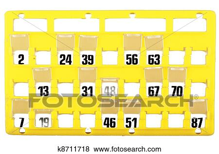 Stock Illustration Of Bingo Card For Family Game K8711718 Search