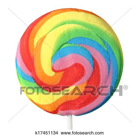 stock photo of lollipop all colors of the rainbow k17451134 search