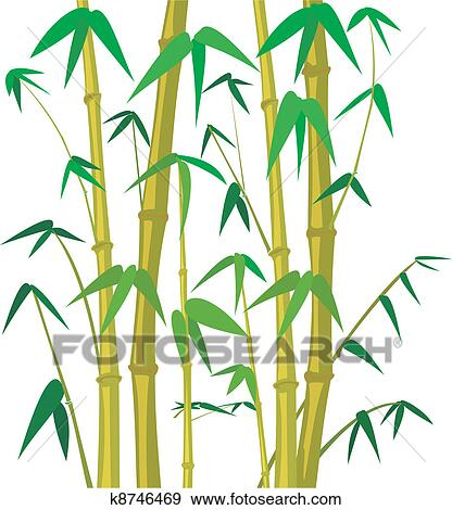 clip art of bamboo tree k8746469 search clipart illustration rh fotosearch com bamboo clipart png bamboo images clip art