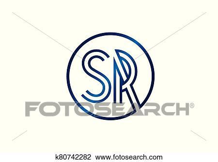 Initial Monogram Letter Sr Logo Design Vector Template Graphic Alphabet Symbol For Corporate Business Identity Clipart K80742282 Fotosearch