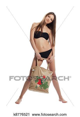 Lustig und bikini