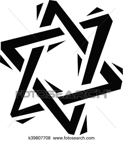 clip art of jewish star of david k39807708 search clipart rh fotosearch com star of david clipart black and white star of david clipart graphics