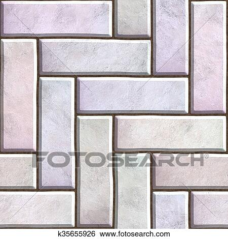 stock illustration of pavers seamless texture k35655926 search