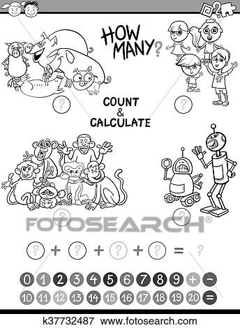 Coloring Book Cartoon Vector & Photo (Free Trial) | Bigstock | 470x344