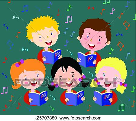 Children Choir Stock Illustrations – 952 Children Choir Stock  Illustrations, Vectors & Clipart - Dreamstime