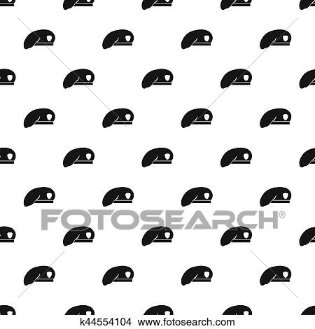 Military beret pattern. Simple illustration of military beret pattern for  web bb66a221e75