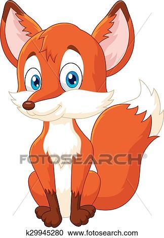 Clipart cartone animato animale volpe proposta - Animale cartone animato immagini gratis ...