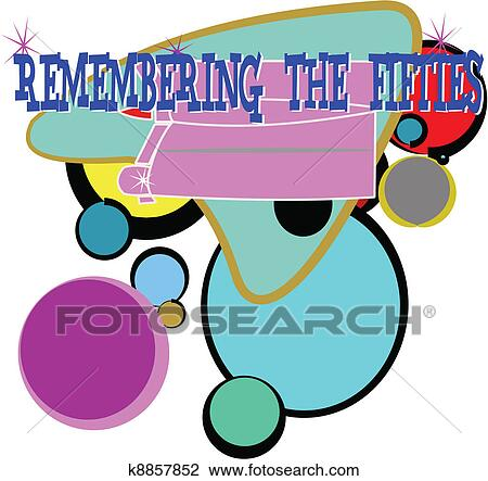 Fifties Clip Art - Royalty Free - GoGraph