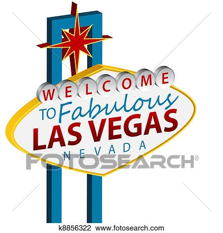 clipart of welcome to las vegas sign k8856322 search clip art rh fotosearch com las vegas clip art wedding las vegas clip art and graphics